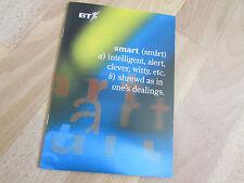 BT British Telecom New SMART Phonecard Set of 4 cards in Presentation Brochure