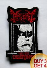 MAYHEM E PATCH BUY3GET4,CELTIC FROST,1349,GORGOROTH,EMPEROR,BLACK METAL,1BURZUM