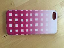 Designer Coach Pink & White iPhone 5 Cover Mod