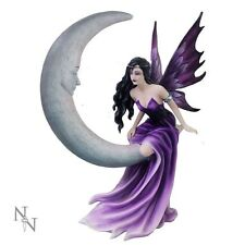 NEMESIS NOW LARGE GOTHIC FAIRY & MOON ORNAMENT/FIGURINE *CRESCENT DREAMS* NEW