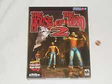 NEW The House of the Dead 2 Sega PC Game BIG BOX SEALED Computer Shooter 2001