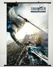 Anime Cloud Strife Sephiroth Final Fantasy VII Home Decor Poster Wall Scroll