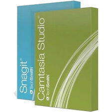 Techsmith Camtasia Studio 8.6 & SnagIt 13 Software (College Students) DOWNLOAD