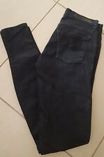 NOBODY Indigo Dark Blue Low Cut Stretch Super Skinny Jeans 24/6