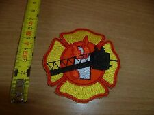 (E14) ECUSSON  PATCH POMPIERS FIRE USA