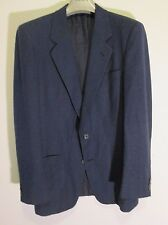 Gucci Made in Italy STUNNING FIT chic Prussian Blue Blazer Jacket IT 48 US 38 S