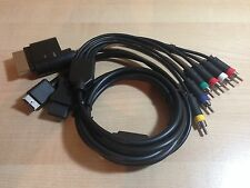 Cable de video por Componente Stereo Playstation 2 , 3 Microsoft XBOX 360  y Wii