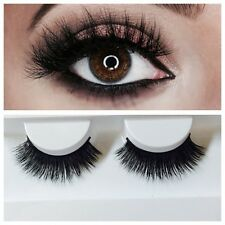 LASHES 100% REAL MINK 3D FALSE LASHES.*HANDMADE LUXURIOUS RUSSIAN VOLUME!* UK!