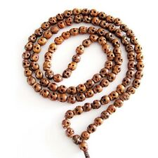 Skull Jujube Wood Tibet Buddhist Prayer Beads Mala Necklace--108Beads--8mm*7mm