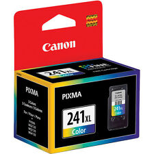 Genuine Canon CL241 XL ink MG2220 MG3122 MG3220 MG3520 MX392 MX452 241 XL CL-241