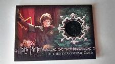 HARRY POTTER GOBLET OF FIRE C1a HARRY DAN RADCLIFFE WORN COSTUME CARD LOW no. 16