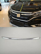 Front Upper Molding Cover Trim for 2015-2016 Honda CR-V CRV Engine Lid Cover ABS