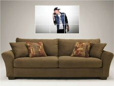 "MACHINE GUN KELLY MOSAIC 35""X25"" INCH WALL POSTER HIP HOP"