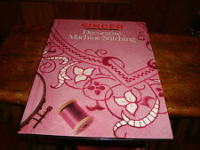 Decorative Machine Stitching  Singer Sewing Reference Library 1990 Excellent