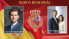 SELLO 2014 (HB, Emitida12.10) NUEVA Sellos  ** MNH - Felipe VI. Rey de España VI