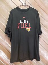Indy Fuel T Shirt Hockey Under Armour Heat Gear Loose Fit Men's Size XL Nice