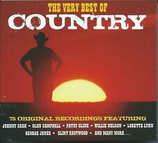 The Very Best of Country - 75 Original Recordings (3CD 2013) NEW/SEALED