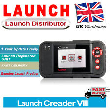 Launch X431 Creader VIII CRP129 Car Code Reader Scanner Diagnostic Tool UK Stock