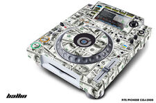 Skin Decal Sticker Wrap for Pioneer CDJ 2000 Turntable DJ Mixer Pro Audio BALLIN