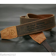 New Matin Leather Camera Strap Vintage-30 Brown for Canon Nikon Sony DSLR Strap