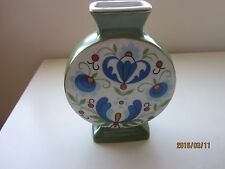 """Lubiana Pottery Vase made in Poland 6.25""""H"""