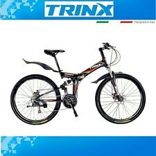 Bicicleta mountainbike klapprad trinx Striker MTB 26 pulgadas un resorte hizo fully