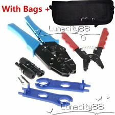 Solar PV Tools Kits for MC3/MC4 Solar Connectors With Crimping+Stripping+Cutting