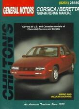Chevrolet Corsica and Beretta, 1988-96 (Chilton Total Car Care Series -ExLibrary