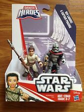 2016 star wars force awakens galactic heros heroes rey and captain phasma
