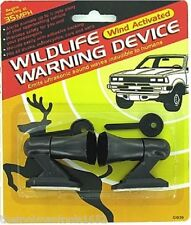 2 Deer Whistles Wildlife Warning Devices Animal Alert Car Safety Accessories New