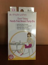 Simple Wishes Hands-Free Breastpump Bra Pink XS-L