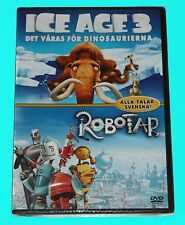 ICE AGE 3 - ROBOTAR - DVD - NEW IN SEALED BOX