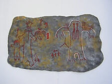 Cryptozoology REPLICA  BIGFOOT Tule River Indian Pictograph  - Cave art
