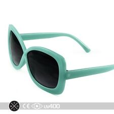 Green Aqua Large Format Infinity Kids Girls Sunglasses Child Children K004