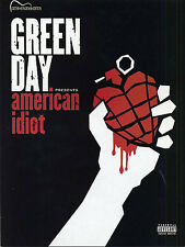 Green Day American Idiot Sheet Music Guitar Book TAB LEARN HOLIDAY ROCK SONGS