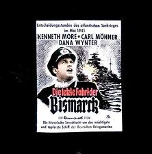 Die letzte Fahrt der Bismarck ORIGINAL Kino-Dia / Film-Dia / Diacolor /C. Möhner