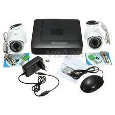 4CH 960H DVR 2x540TVL HD Outdoor Home CCTV Surveillance Security Camera System