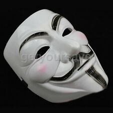 V Pour Vendetta Masque Visage Guy Fawkes Anonymous Déguisementlacet Halloween