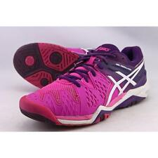 Asics Gel Resolution 6 Women US 10 Multi Color Running Shoe Pre Owned  1514