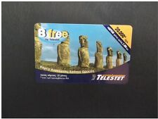 Greece Prepaid Mobile card easter islands b free telestet 20000 dr used Grece !!