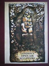 POSTCARD LONDON TRANSPORT POSTER - 1972 OPEN AIR SCULPTURE