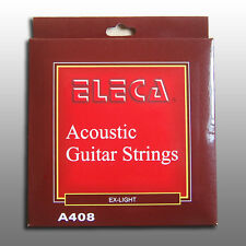 ELECA Acoustic Guitar Strings,11 Gauge Extra Light,Coated Phosphor Bronze,120pcs