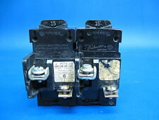 Lot of 2  PUSHMATIC ITE BULLDOG 1 Pole BREAKERS 15 Amp P115