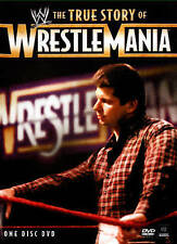 The WWE: The True Story of WrestleMania (DVD, 2015)