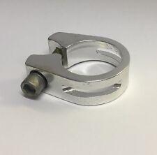 Sattelklemmring Aluminium 31,8 mm silber Neu Inbusschraube, Sattelklemme #351003