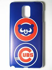 MLB Chicago Cubs Logo Samsung Galaxy Note 4 N910 Plastic One-Piece Slim Case