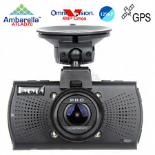 "Eyoyo Ambarella A7 XHD 1296P 2.7"" Dash Camera DVR GPS Video Register LDWS CPL"