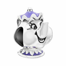 Chamilia Disney Beauty and the Beast Mrs. Potts Charm **Genuine and Brand New**