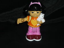 Fisher Price Little People Camping SONYA Girl Cat New