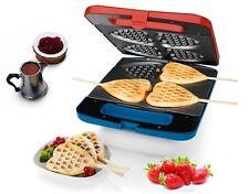 Silvercrest Macchina per waffle 4Herzwaffeln Waffelmaker 1400W Forma a cuore